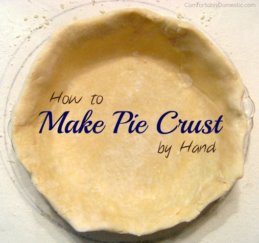 Flawless Pie Dough is an easy way to Make Pie Crust by Hand | ComfortablyDomestic.com