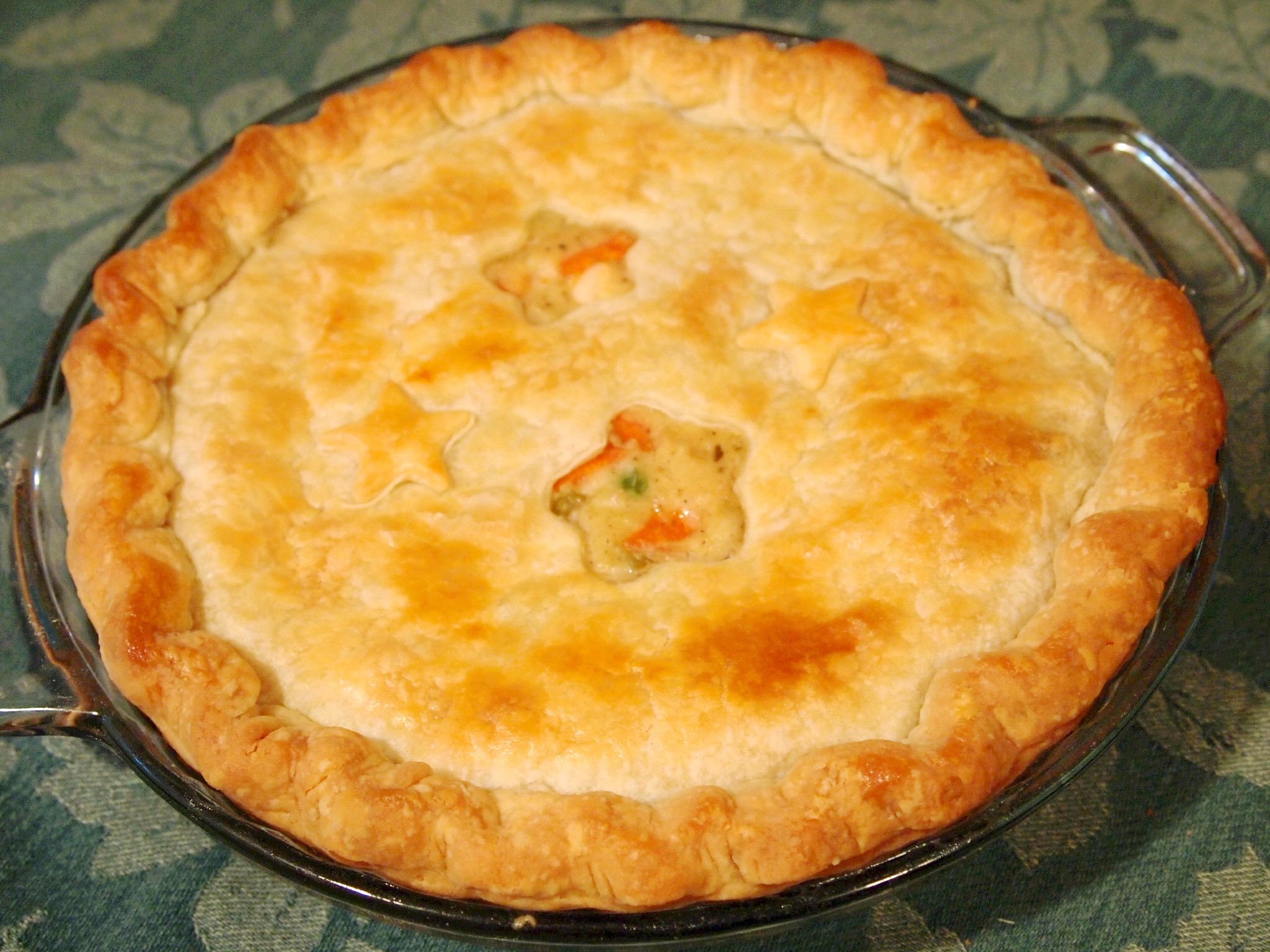 the comfort food chicken pot pie: a creamy, vegetable-studded chicken ...