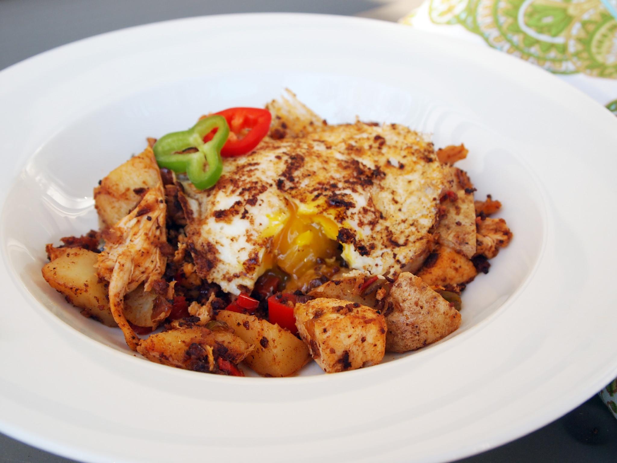 Thanksgiving Leftover Idea: Turkey Hash with Chorizo | Comfortably ...