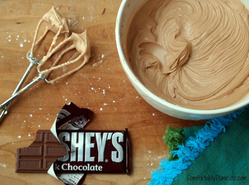 Milk Chocolate Buttercream   Comfortably Domestic