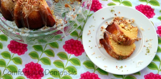 Key Lime Bundt Cake With Cake Mix