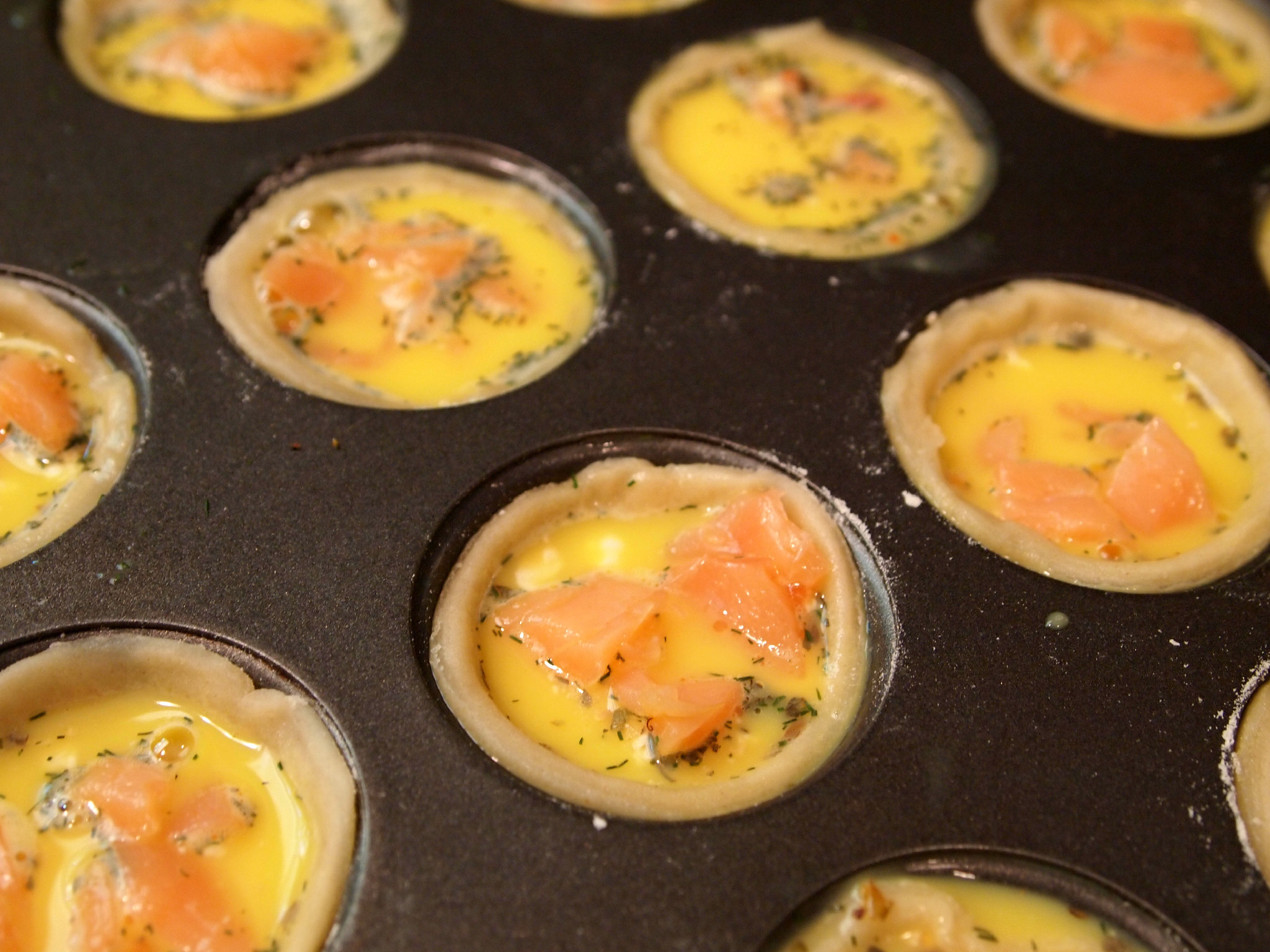 Smoked Salmon Quiche Bites and a Bite-Sized Brunch Giveaway ...