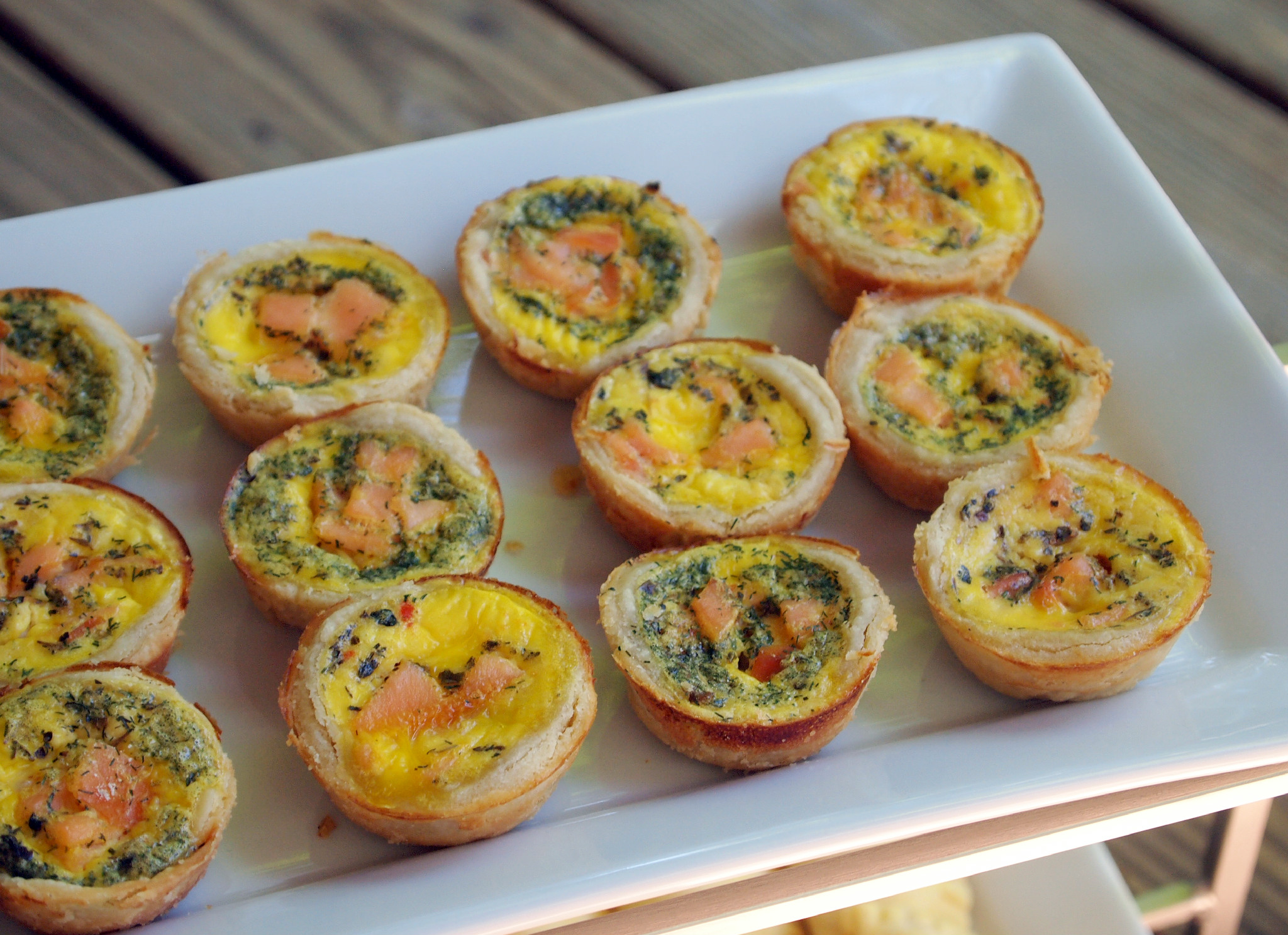 Smoked Salmon Quiche Bites will be the Bite-Sized Bright Spot of your ...