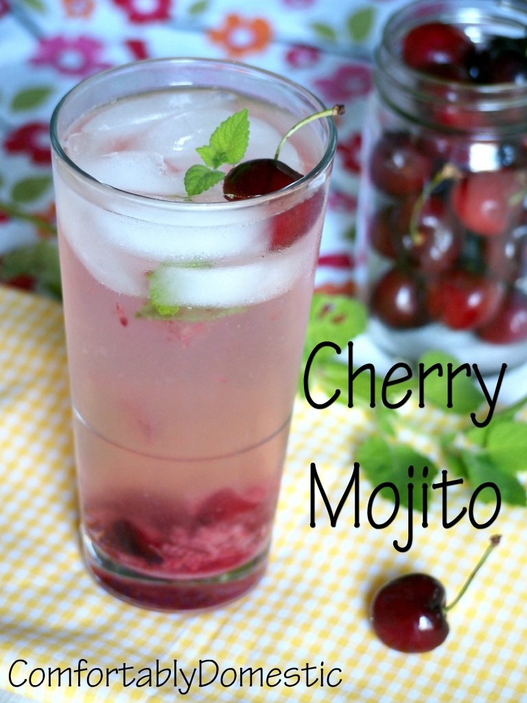 Cocktail Week: Traverse City Cherry Mojito - Comfortably ...