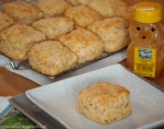 Whole Wheat Buttermilk Biscuits | ComfortablyDomestic.com