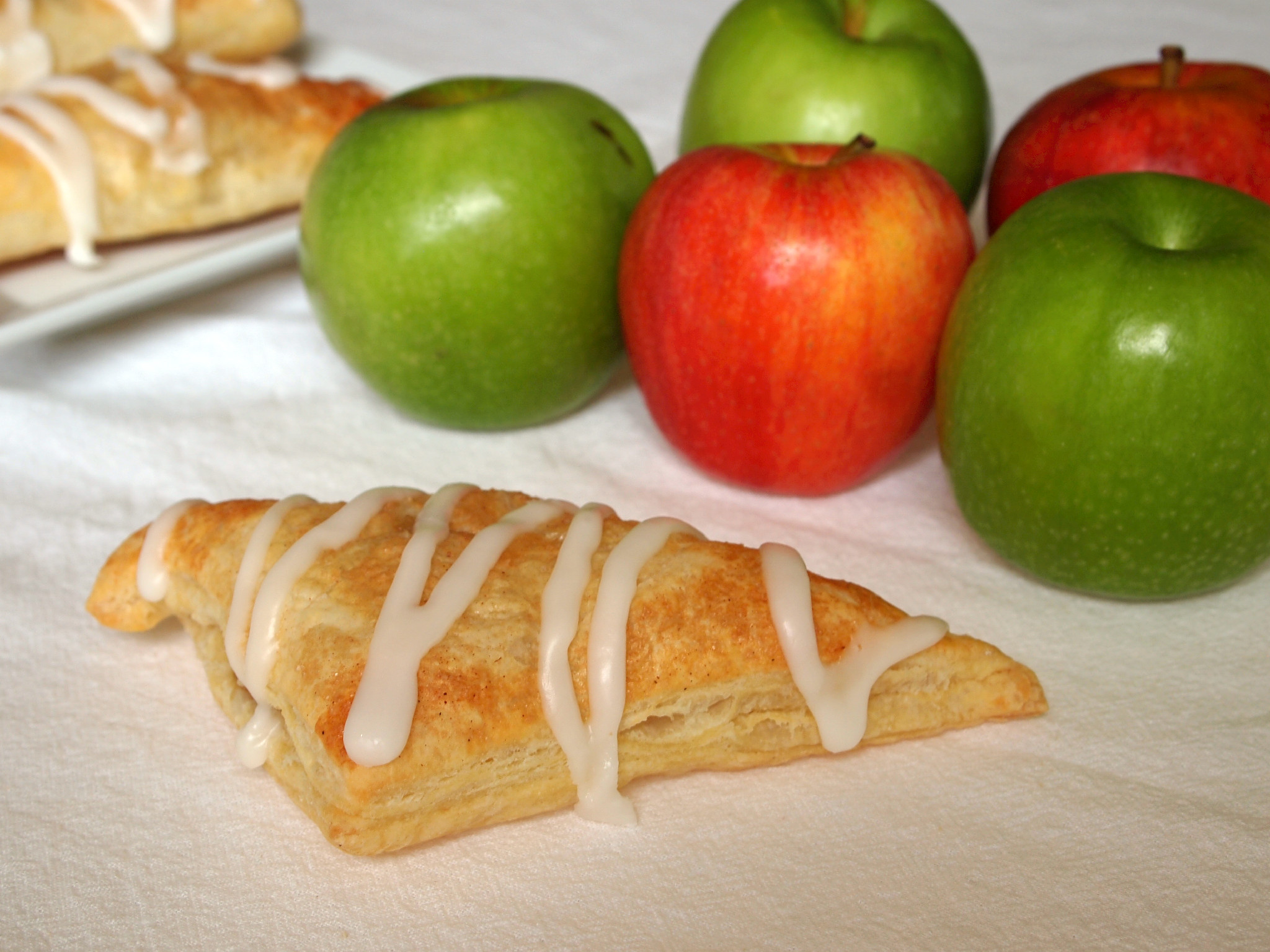 Apple turnovers are a sweet breakfast treat with a cup of coffee, as an afternoon snack, or for a light dessert. The best part is that they're incredibly easy to make!