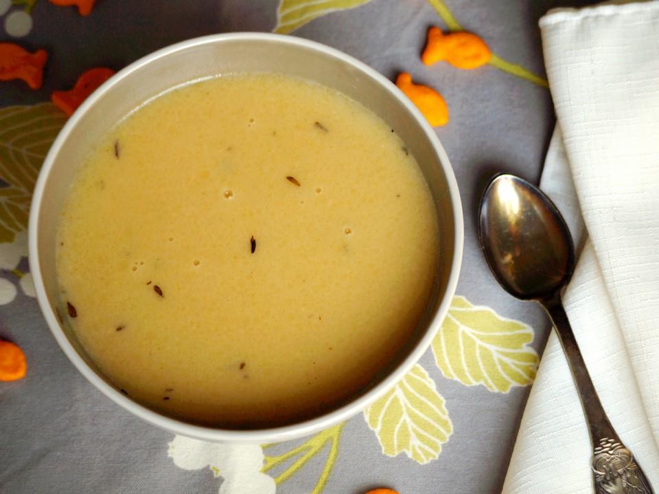 Cream of Potato Soup | ComfortablyDomestic.com