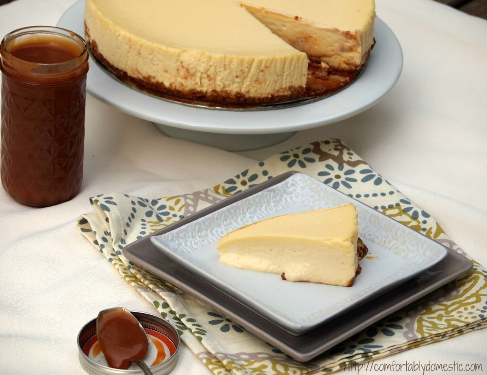 Positively Perfect Cheesecake | ComfortablyDomestic.com