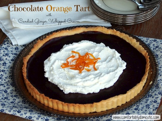 Chocolate Orange Tart Header