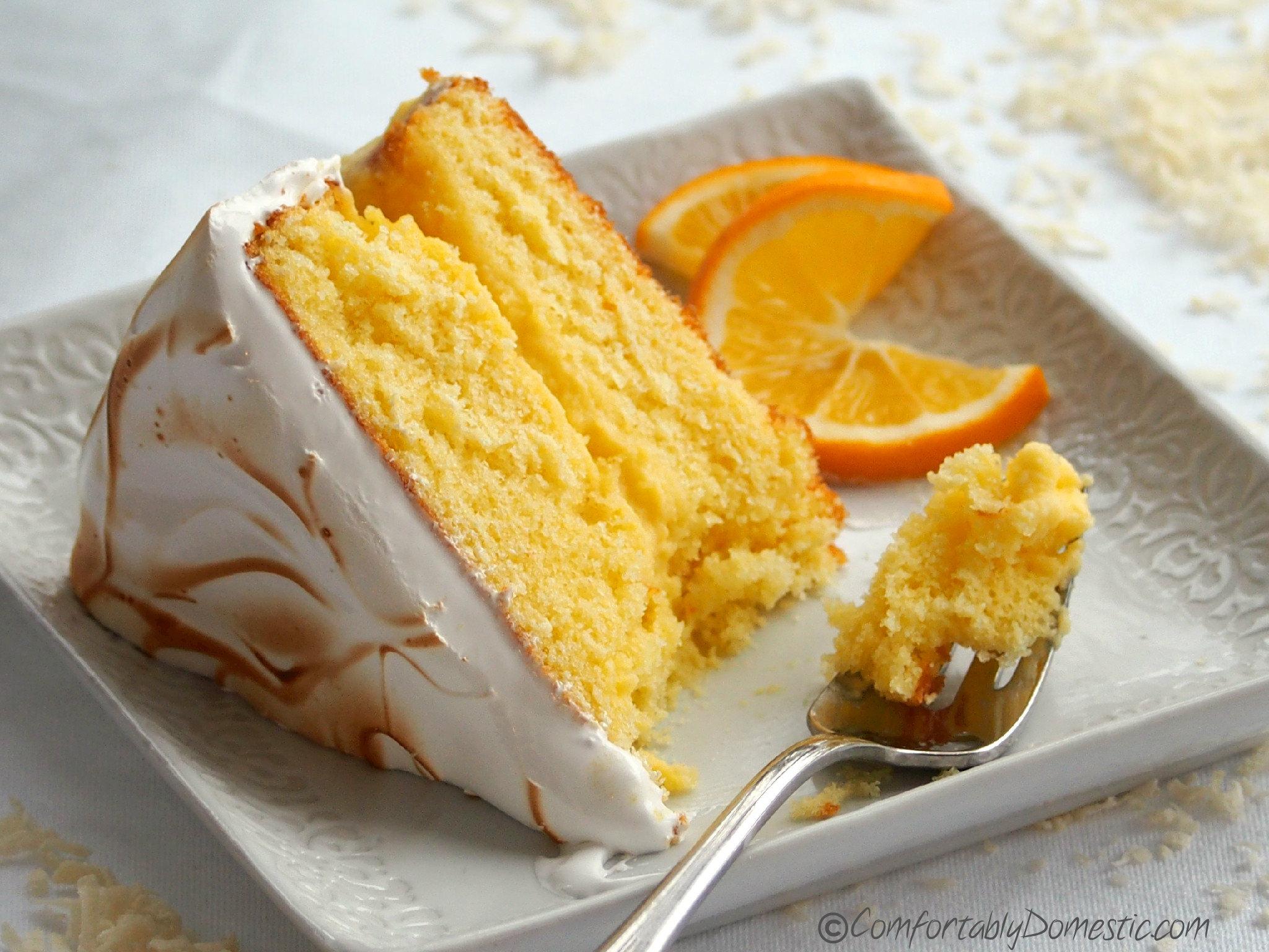Lemon Meringue Cake Uk