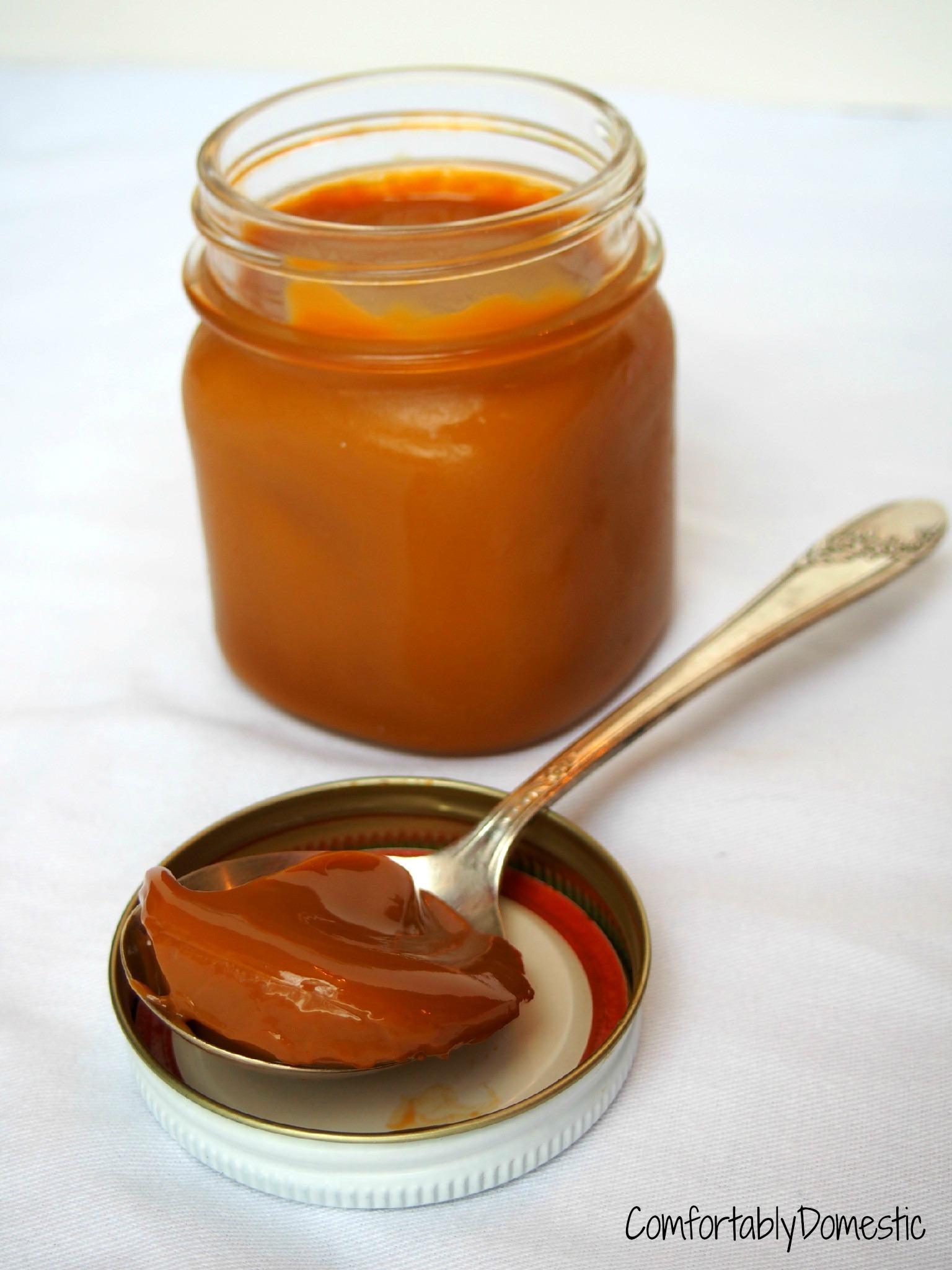 Caramel Week Kickoff: Crockpot Dulce de Leche Caramel ...