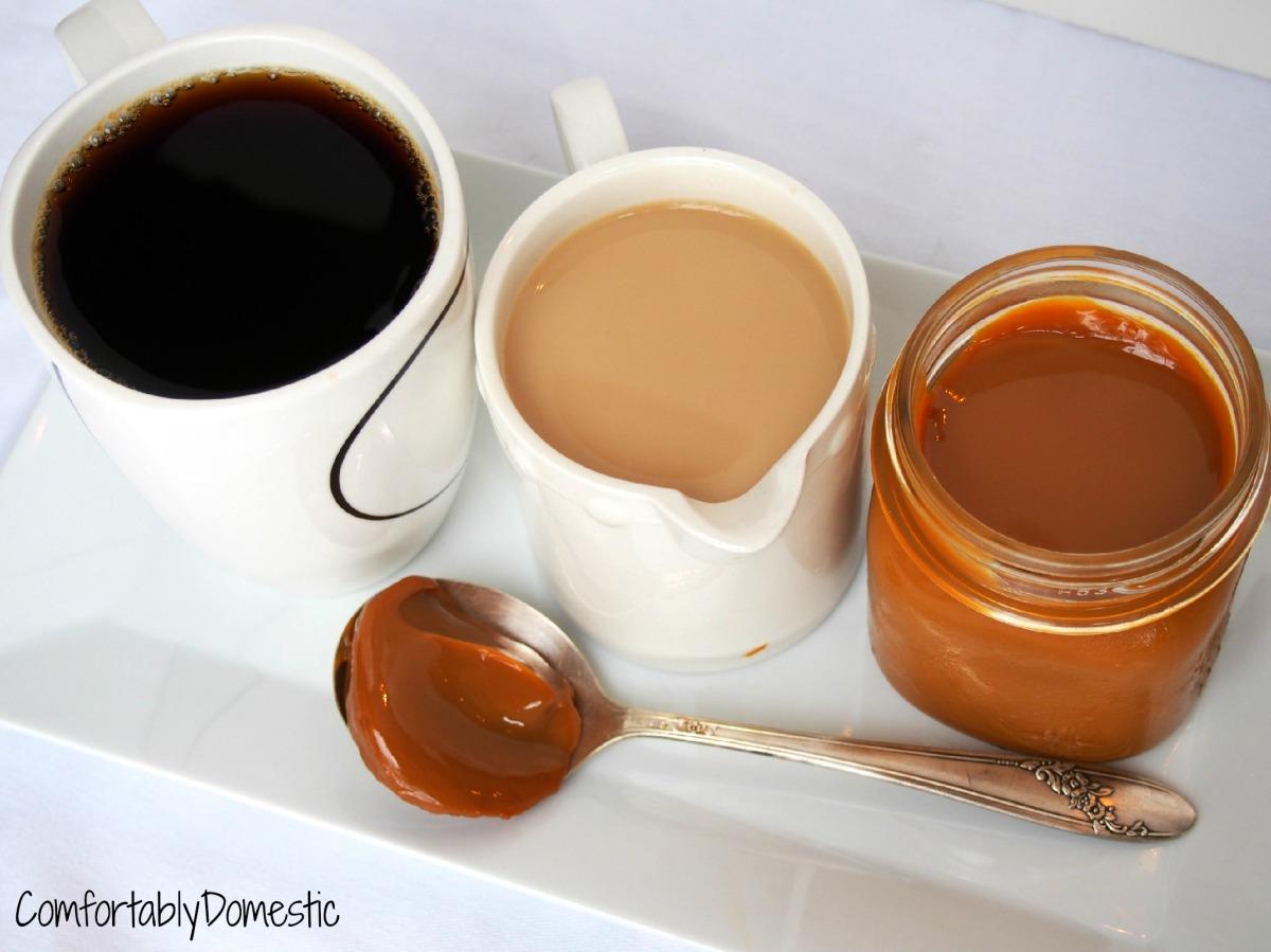 ... Do-it-Yourself Dulce de Leche Coffee Creamer | Comfortably Domestic