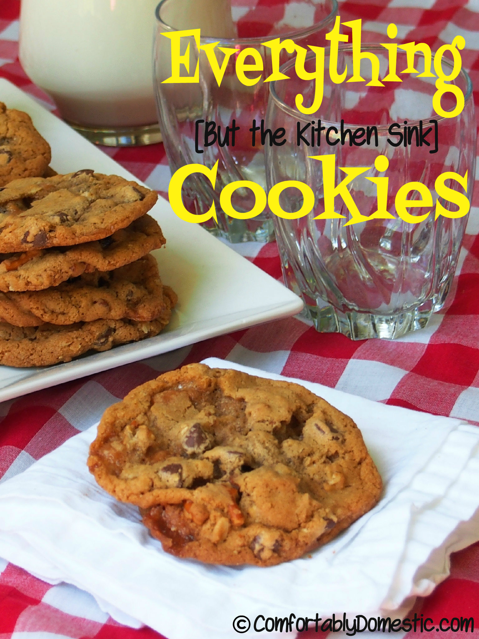 Back to School: Everything (But the Kitchen Sink) Cookies ...